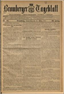 Bromberger Tageblatt. J. 32, 1908, nr 73