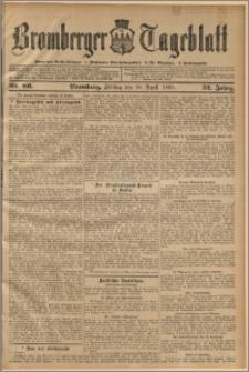 Bromberger Tageblatt. J. 32, 1908, nr 86