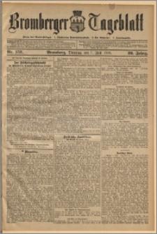 Bromberger Tageblatt. J. 32, 1908, nr 157