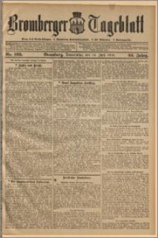 Bromberger Tageblatt. J. 32, 1908, nr 165