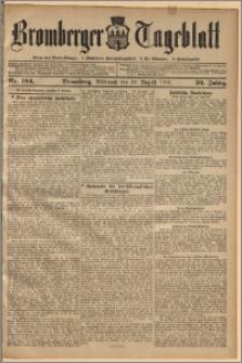 Bromberger Tageblatt. J. 32, 1908, nr 194