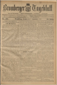 Bromberger Tageblatt. J. 32, 1908, nr 210