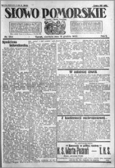 Słowo Pomorskie 1922.12.10 R.2 nr 284