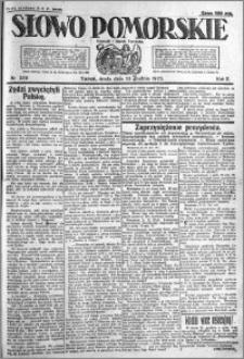 Słowo Pomorskie 1922.12.13 R.2 nr 286