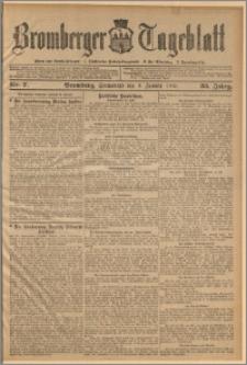 Bromberger Tageblatt. J. 33, 1909, nr 7