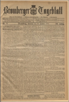 Bromberger Tageblatt. J. 33, 1909, nr 8