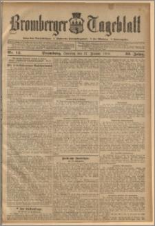 Bromberger Tageblatt. J. 33, 1909, nr 14