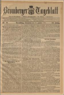 Bromberger Tageblatt. J. 33, 1909, nr 19