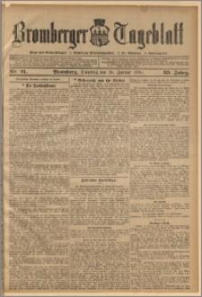 Bromberger Tageblatt. J. 33, 1909, nr 21