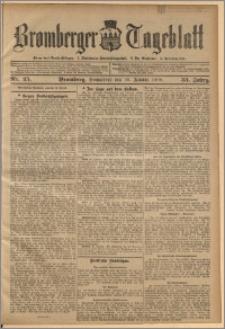 Bromberger Tageblatt. J. 33, 1909, nr 25
