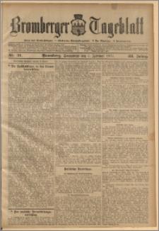 Bromberger Tageblatt. J. 33, 1909, nr 31
