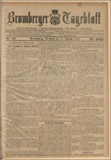 Bromberger Tageblatt. J. 33, 1909, nr 34