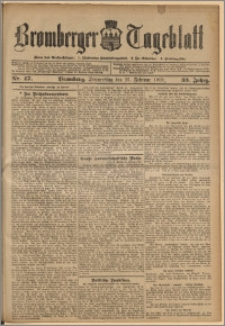 Bromberger Tageblatt. J. 33, 1909, nr 47