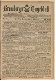 Bromberger Tageblatt. J. 33, 1909, nr 67