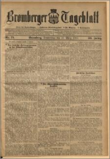 Bromberger Tageblatt. J. 33, 1909, nr 71