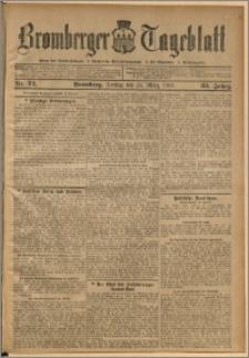 Bromberger Tageblatt. J. 33, 1909, nr 72