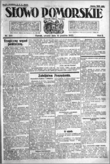 Słowo Pomorskie 1922.12.19 R.2 nr 291