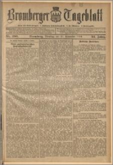 Bromberger Tageblatt. J. 33, 1909, nr 280