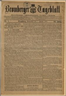 Bromberger Tageblatt. J. 34, 1910, nr 1