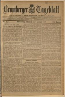 Bromberger Tageblatt. J. 34, 1910, nr 3