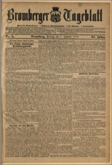 Bromberger Tageblatt. J. 34, 1910, nr 5
