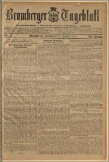 Bromberger Tageblatt. J. 34, 1910, nr 7