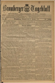 Bromberger Tageblatt. J. 34, 1910, nr 9