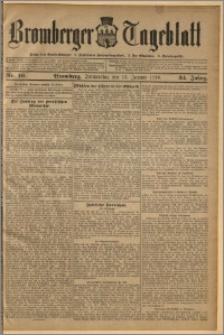 Bromberger Tageblatt. J. 34, 1910, nr 10