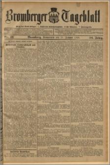Bromberger Tageblatt. J. 34, 1910, nr 12