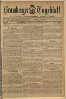 Bromberger Tageblatt. J. 34, 1910, nr 13