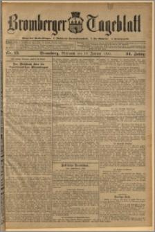 Bromberger Tageblatt. J. 34, 1910, nr 15