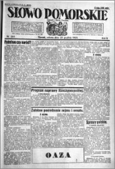 Słowo Pomorskie 1922.12.23 R.2 nr 295