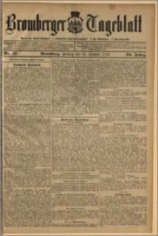 Bromberger Tageblatt. J. 34, 1910, nr 17