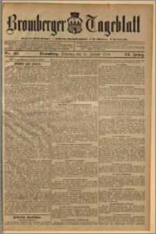 Bromberger Tageblatt. J. 34, 1910, nr 20