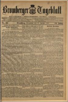 Bromberger Tageblatt. J. 34, 1910, nr 24