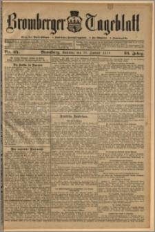 Bromberger Tageblatt. J. 34, 1910, nr 25