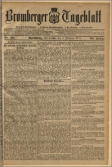 Bromberger Tageblatt. J. 34, 1910, nr 28