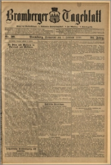 Bromberger Tageblatt. J. 34, 1910, nr 30