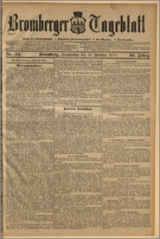Bromberger Tageblatt. J. 34, 1910, nr 34