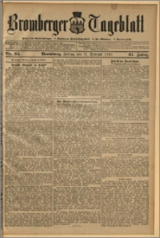 Bromberger Tageblatt. J. 34, 1910, nr 35