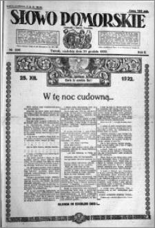 Słowo Pomorskie 1922.12.24 R.2 nr 296