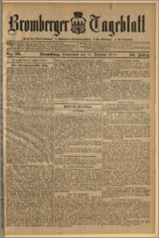 Bromberger Tageblatt. J. 34, 1910, nr 36