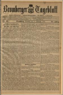 Bromberger Tageblatt. J. 34, 1910, nr 37