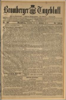 Bromberger Tageblatt. J. 34, 1910, nr 38