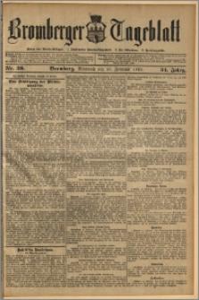 Bromberger Tageblatt. J. 34, 1910, nr 39