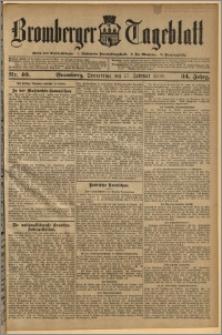Bromberger Tageblatt. J. 34, 1910, nr 40