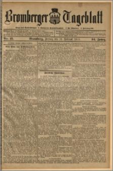 Bromberger Tageblatt. J. 34, 1910, nr 41