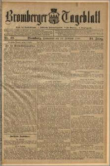 Bromberger Tageblatt. J. 34, 1910, nr 42