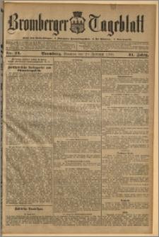 Bromberger Tageblatt. J. 34, 1910, nr 43