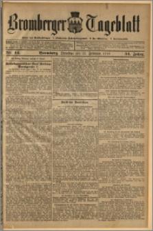 Bromberger Tageblatt. J. 34, 1910, nr 44